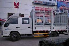 江铃 新凯运 109马力 3.3米双排仓栅式轻卡(JX5044CCYXSG2) 卡车图片