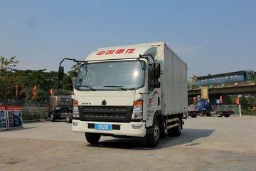 中国重汽HOWO 统帅 141马力 4.15米单排仓栅式轻卡(ZZ5047CCYF341CE143)