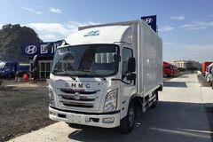 四川现代 瑞越 115马力 4.18米单排厢式轻卡(CNJ1040ZDB33M) 卡车图片