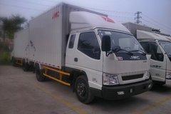 江铃 新凯运 109马力 3.7米排半厢式轻卡(宽体)(JX5048XXYXPGB2) 卡车图片