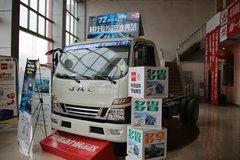 江淮 骏铃V6 160马力 3308轴单排轻卡底盘(白)(HFC1043P91K6C2) 卡车图片