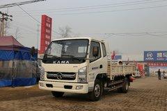 凯马 福运来 95马力 3.83米排半栏板轻卡(KMC1042A33P5)图片