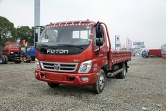 福田 奥铃TX 科技版 110马力 4.2米单排栏板轻卡(红色)(BJ1049V9JD6-AA) 卡车图片