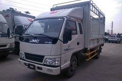 江铃 新顺达 109马力 3.8米排半仓栅式轻卡(JX5044CCYXPG2) 卡车图片