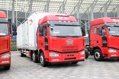 一汽解放 J6P重卡 260马力 6X2 8.7米厢式载货车(CA5200XXYP63K1L6T3E4) 卡车图片