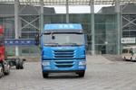 青岛解放 悍V重卡 260马力 8X2 9.65米仓栅式载货车(CA5310CCYP2K2L7T10E5A80)