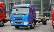 青岛解放 龙V中卡 180马力 4X2 6.7米载货车底盘(CA1168PK2L2E5A80)