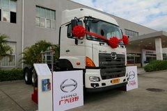 广汽日野 700系列 420马力 6X4双油箱牵引车(YC4250SS2PK4) 卡车图片