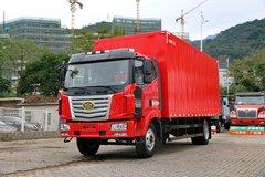 一汽柳特 金陆中卡 170马力 4X2 6.8米厢式载货车(LZ5162XXYPK2E4L3A95) 卡车图片