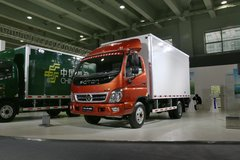 福田 奥铃TX 103马力 3.655米单排厢式轻卡(CNG/汽油)(BJ5031XXY-CB) 卡车图片