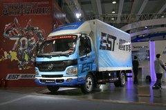 福田 欧马可EST 纯电动超级卡车 82马力 4.2米单排厢式轻卡(BJ5041XXYEV) 卡车图片