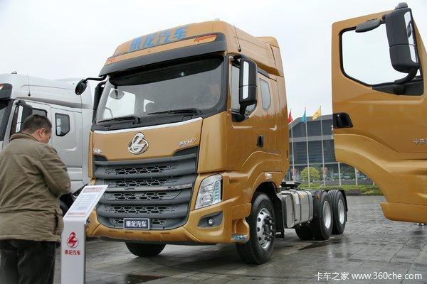 东风柳汽 乘龙H7重卡 420马力 6X4牵引车