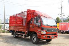 福田 欧马可3系 118马力 3.7米排半仓栅轻卡(BJ5049CCY-F4) 卡车图片