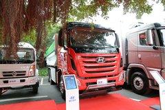 四川现代 创虎XCIENT重卡 360马力 6X4 5.8米自卸车(渣土车) 卡车图片