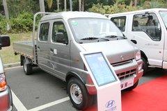 四川现代 瑞宝 1.3L 87马力 汽油/CNG 2.6米双排栏板微卡 卡车图片