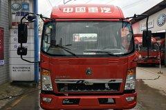 中国重汽HOWO 悍将 115马力 3800轴距载货车底盘(ZZ1107D3815D1) 卡车图片