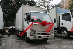 庆铃 五十铃ELF 98马力 4X2 冷藏车(QL10403HARY)