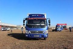 福田 奥铃CTX中卡 156马力 4X2 5.75米排半仓栅式载货车(BJ5129VJCED-FD)