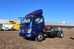 福田 奥铃CTX 科技版 118马力 3360轴距单排轻卡底盘(蓝色)(BJ1049V9JD6-FE) 卡车图片