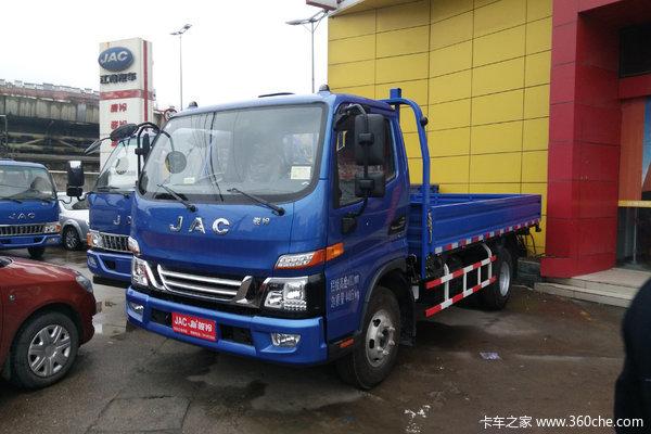 江淮 骏铃V6 152马力 4.18米单排栏板轻卡