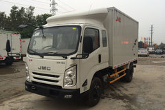 江铃 凯锐800 152马力 3.7米排半厢式轻卡(JX5047XXYXPGB2) 卡车图片