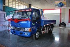 江淮 骏铃E6 130马力 4.2米单排栏板轻卡(国五)(HFC1043P91K1C2V) 卡车图片