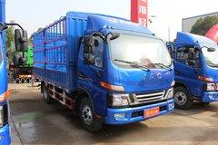 江淮 骏铃V6 152马力 4.18米单排仓栅式轻卡(HFC5043CCYP71K1C2V)图片