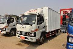 江淮 骏铃V6 143马力 4.2米单排厢式轻卡(HFC5043XXYP91K6C2) 卡车图片