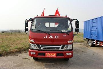 江淮 骏铃V6 152马力 4.18米排半栏板轻卡(HFC1080P91K1C2V)