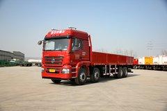 陕汽重卡 德龙新M3000 轻量化版 300马力 8X4 9.5米栏板载货车(SX1316GN456) 卡车图片