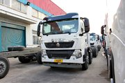 中国重汽 HOWO T5G系重卡 290马力 8X4 LNG自卸车底盘(ZZ3317M386GE1L)