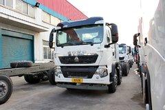 中国重汽 HOWO T5G系重卡 290马力 8X4 LNG自卸车底盘(ZZ3317M386GE1L) 卡车图片