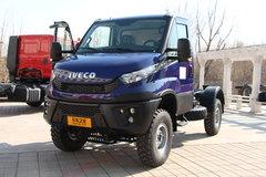 依维柯 Daily中卡 170马力 4X4单排载货车底盘