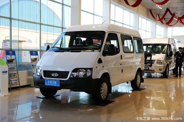 江铃汽车 经典全顺 2016款 109马力 封闭厢式货车(短轴)