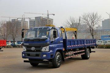 福田 瑞沃中卡 122马力 4X2 6.2米排半栏板载货车(BJ1155VKPEG-1)