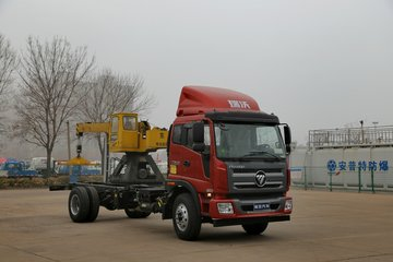 福田 瑞沃中卡 168马力 4X2 5250轴载货车底盘(8挡)(BJ1165VKPEK-1)