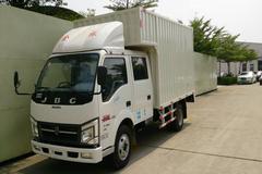 金杯 骐运 115马力 4X2 3.3米双排厢式轻卡(SY5044XXYS-H2) 卡车图片