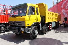 江铃重汽 远威重卡 280马力 8X4 7.4米自卸车(SXQ3310G5N) 卡车图片