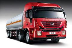 上汽红岩 杰狮M100 350马力 8X4 运油车底盘(平顶)(CQ5315GJYHMG466)
