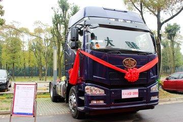 一汽解放 J6P重卡 标载型 420马力 4X2牵引车(CA4180P66K24E5)
