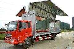 东风商用车 天锦中卡 160马力 4X2 7.7米厢式载货车(飞翼)(DFH5160XYKBX2A2) 卡车图片
