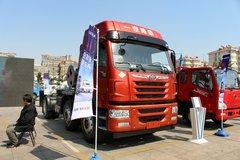 青岛解放 悍V准重卡 350马力 6X2牵引车(双油箱)(CA4227P1K15T3E4A80) 卡车图片