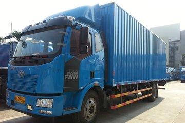 一汽解放 J6L中卡 164马力 4X2 7.7米厢式载货车(CA5160XXYP62K1L5A1E4)