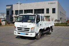 唐骏欧铃 骏骐 旗舰版 124马力 3.8米排半栏板轻卡(重载王)(ZB1040TPD6F) 卡车图片