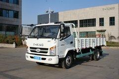 唐骏欧铃 骏骐 旗舰版 124马力 4.23米单排栏板轻卡(ZB1040TDD6F) 卡车图片