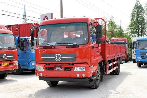 东风商用车 天锦中卡 160马力 4X2 6.75米排半栏板载货车
