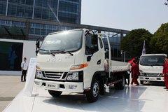江淮 骏铃E3 156马力 3.9米排半栏板轻卡(HFC1041P53K1C2V) 卡车图片