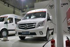 福田商务车 图雅诺E 商运版 116马力 封闭厢式货车