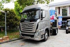四川现代 创虎XCIENTP360重卡 轻量化 360马力 4X2牵引车(CHM4180KPQ39M) 卡车图片