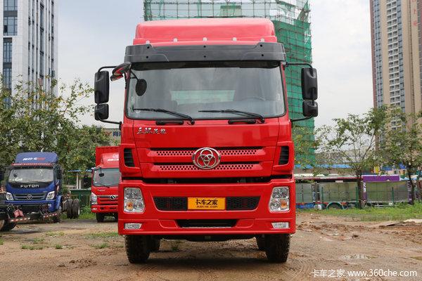 三环十通 昊龙 310马力 8X4 7.2米栏板载货车